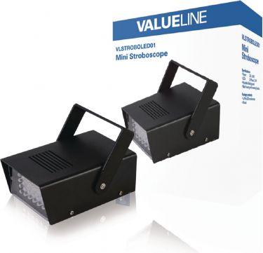 Valueline LED Stroboskop Stemningslampe 24 LED, VLSTROBOLED01