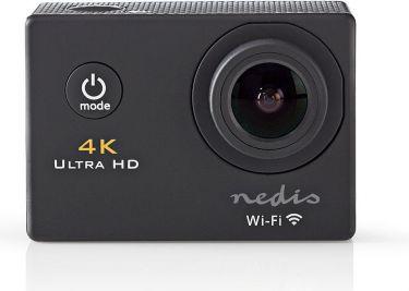 Nedis Actionkamera | Ultra HD 4K | Wi-Fi | Vandtæt kuffert, ACAM40BK