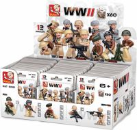Sluban Byggeklodser WWII Serie Minifigures, M38-B0580