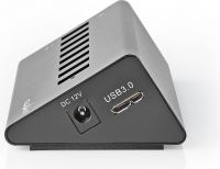 Nedis USB-hub | 8 Porte | USB 3.0-drevet | QC3.0 | 5 Gbps, UHUBUP3810BK