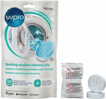 Whirlpool Cleaning Tablets Washing Machine 1 pc, 484000001180