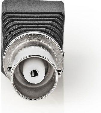 Nedis CCTV Security Connector   5x   2-Wire to BNC Female, CCTVCF30BK5