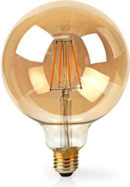 Nedis Wi-Fi Smart LED Filament Bulb | E27 | 125 mm | 5W | 500 lm, WIFILF10GDG125