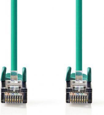 Nedis Cat 6 S/FTP Network Cable | RJ45 Male - RJ45 Male | 0.15 m | Green, CCGP85221GN015