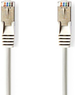 Nedis Kat. 5e SF/UTP-netværkskabel | RJ45-hanstik | RJ45-hanstik | 0,25 m | Grå, CCGP85121GY025