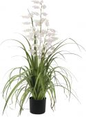 Udsmykning & Dekorationer, Europalms Bellflower, artificial flower, rose, 105cm