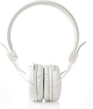 Nedis Trådløse hovedtelefoner | Bluetooth® | On-ear | Foldbar | Hvid, HPBT1100WT