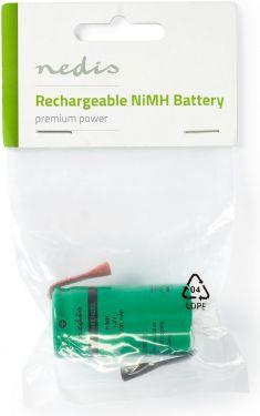 Nedis Nickel-Metal Hydride Battery   1.2 V   4000 mAh   Solder Connector, BANM40R14ZSC