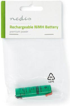 Nedis Nickel-Metal Hydride Battery | 3.6 V | 300 mAh | Solder Connector, BANM390SC1