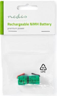 Nedis Nikkel-metalhydrid-batteri | 2,4 V | 300 mAh | Loddetilslutning, BANM32VR011SC