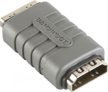 Bandridge High Speed HDMI with Ethernet Adapter HDMI Female - HDMI Female Grey, BVP110