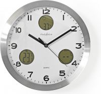 Nedis Wall clock | Weather station | Hygrometer | Outdoor unit, WEST300WT