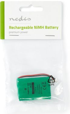 Nedis Nickel-Metal Hydride Battery | 3.6 V | 600 mAh | Wired Connector, BANM5T0424