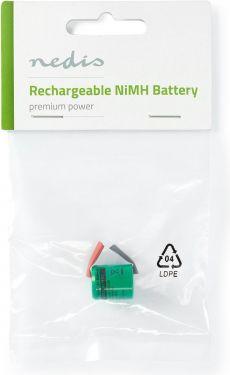 Nedis Nikkel-metalhydrid-batteri | 1,2 V | 300 mAh | Loddetilslutning, BANM3VR011SC
