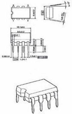 Fixapart Voltage Regulator 36 VDC 1 MHz, UA741CN8-MBR