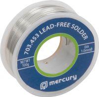 Loddetin uden bly Ø1.0mm, 100 gram