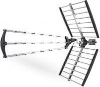 Nedis Outdoor TV Antenna | Max. 18 dB gain | UHF: 470 - 698 MHz | 50 km Range, ANORU10L7ME