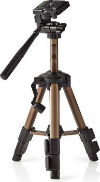 Nedis Trefod | Panorering og Vipning | Maks. 3 kg | 61 cm | Bronze, TPOD3000BZ