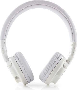 Nedis Hovedtelefoner med kabel | On-ear | Foldbar | 1,2 m aftageligt kabel | Hvid, HPWD2100WT