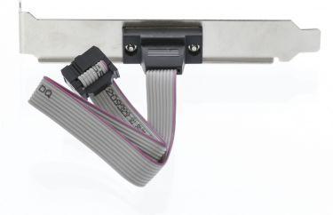 Valueline Seriel Adapter D-SUB 9-Pin Han - IDC 10-Pin Metal, VLCP52090E03