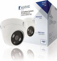 König HD Dome Cctv Kamera IP66 Hvid, SAS-AHDCAM01