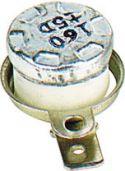 Overophedningsrelæ, Termostat m. autoreset NC slår fra v. 160°C