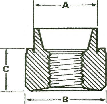 Nittemøtrik M3 (10 stk.)