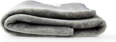 Nedis Electric Blanket | Under-Blanket| 150 x 80 cm | 9 Heat Settings | Indicator Light | Overheat P