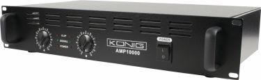 König Forstærker 1000 W, PA-AMP10000-KN