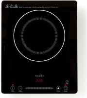 Nedis Induction Cooker | Slim-Line | 2000 W | Touch Control, KAIP121CBK1