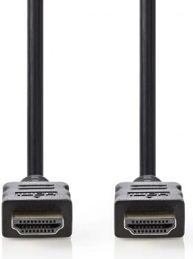 Nedis High Speed HDMI™-kabel med Ethernet | HDMI™-stik - HDMI™-stik | 2,0 m | Sort, CVGT34000BK20