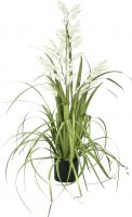 Udsmykning & Dekorationer, Europalms Bellflower, artificial flower, white, 105cm