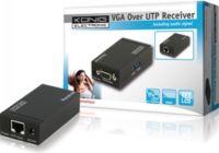"""<span class=""""c10"""">KÖNIG -</span> VGA + audio modtager via UTP Modtager 1 til 1"""