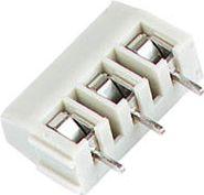 Skrueterminal 3 pol, hvid, 7,5mm benafstand