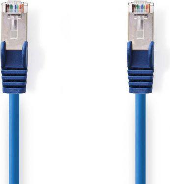 Nedis Kat. 5e SF/UTP-netværkskabel   RJ45-hanstik   RJ45-hanstik   30 m   Blå, CCGP85121BU300