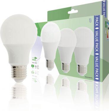 HQ LED Lamp E27 A60 5.9 W 470 lm 2700 K, HQLE27A603P03