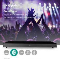 Nedis Soundbase   210 W   2.1   Bluetooth®   Subwoofer   Fjernbetjening, SPSB430BK