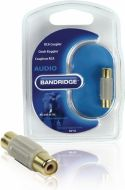 Bandridge, Bandridge Mono Audio Adapter RCA Female - RCA Female Grey, BAP120