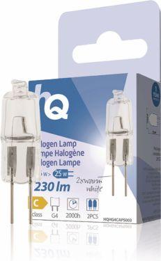 HQ Halogen Lampe G4 Kapsel 16 W 230 lm 2800 K, HQHG4CAPS003