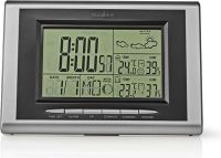Nedis Weather station | Hygrometer | Date/time | Outdoor unit, WEST202GY