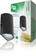 Udendørsbelysning, HQ LED Udendørs Vægpære 11 W 490 lm Sort, HQLEDWLOUT03