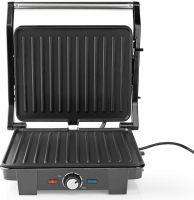 Nedis Compact Grill | 2200 W | Aluminium, KAGR130SR