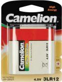 """Batterier og tilbehør, <span class=""""c10"""">Camelion -</span> Camelion 3LR12 alkaline 4,5V / 4400mAh (1 stk.)"""
