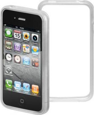 "<span class=""c9"">GOOBAY -</span> TPU bumper til iPhone 4/4s Soft Touch, Transparent"