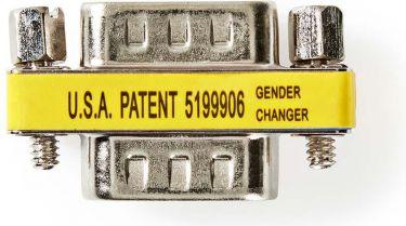 Nedis Gender Changer | VGA Male - VGA Male | 25 pieces | Metal, CCVC59811ME