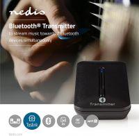 Nedis Trådløs lydtransmitter | Bluetooth® | Op til 2 hovedtelefoner | Sort, BTTR200BK