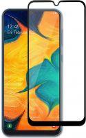 Nedis Skærmbeskytter af glas til Samsung Galaxy A30/A50 | Fuld dækning | 3D-buet | Transparent/sort,