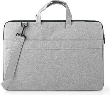 "Nedis Notebook Bag | Shoulder Strap | 8 Storage Pockets | 17"" - 18"" | Grey, NBBG17150GY"