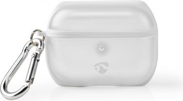 Nedis AirPods Pro Case | Transparent / White, APPROCE100TPWT