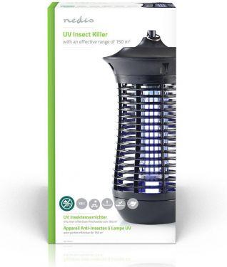 Nedis Mosquito Stop Light Trap | 18 W | 150 m² Coverage, INKI110CBK18
